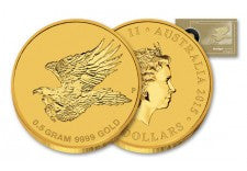 2015 0.5 Gram Gold Australian Eagle Uncirculated