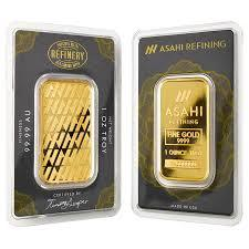 1 oz Asahi Gold Bar (New w/ Assay) - BullionBrothers.net