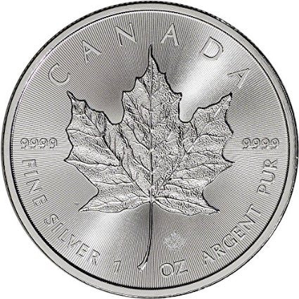 2015 CA Canada Silver Maple Leaf (1 oz) $5 BU Royal Canadian Mint
