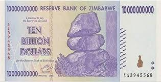 Zimbabwe 10 Billion Dollar banknote - BullionBrothers.net
