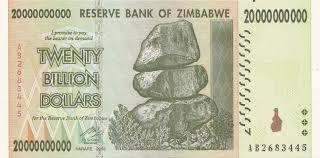 Zimbabwe 20 Billion Dollar banknote - BullionBrothers.net
