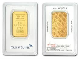 1 oz Credit Suisse Gold Bar (New w/ Assay) - BullionBrothers.net