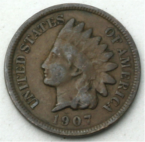 Indian Head Cent / Penny Mixed Date Circulated Good