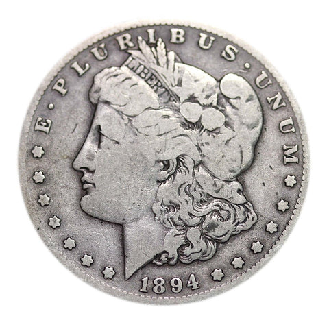 Morgan Dollar Circulated 1878-1904 Dollar Very Good