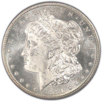 Pre-1921 Morgan Silver Dollar Gem Brilliant Uncirculated (BU) Condition (1878-1904) Set Uncirculated
