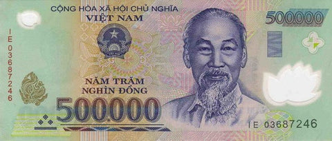 vietnam dong 500000 banknote currency