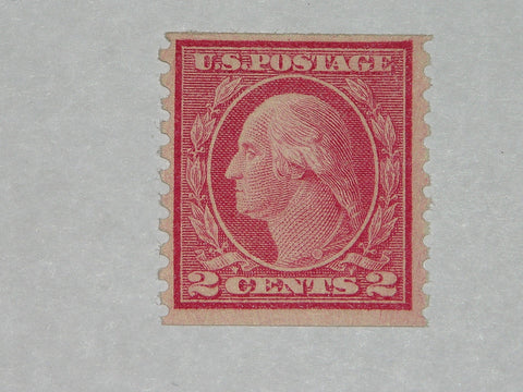US 1915 Scott 454 2 cent Washington VF Mint Never Hinged RARE