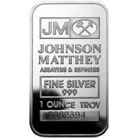 1 oz Johnson Matthey Silver Bar - BullionBrothers.net
