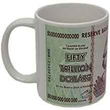 zimbabwe 50 trillion dollar coffee mug