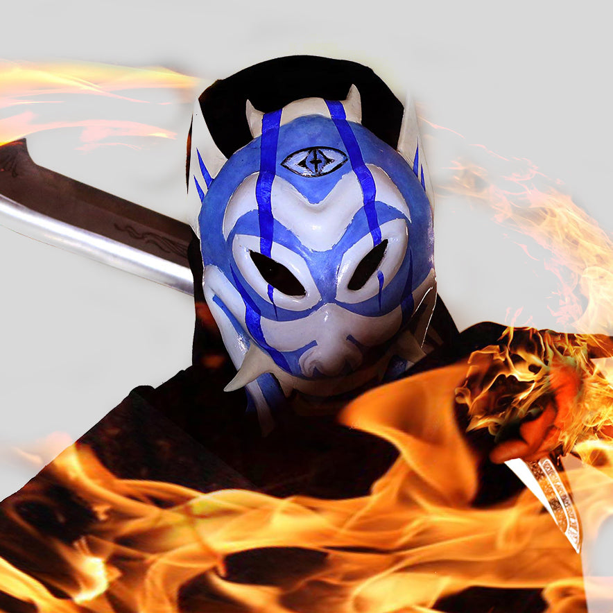 Zuko's Blue Spirit Mask