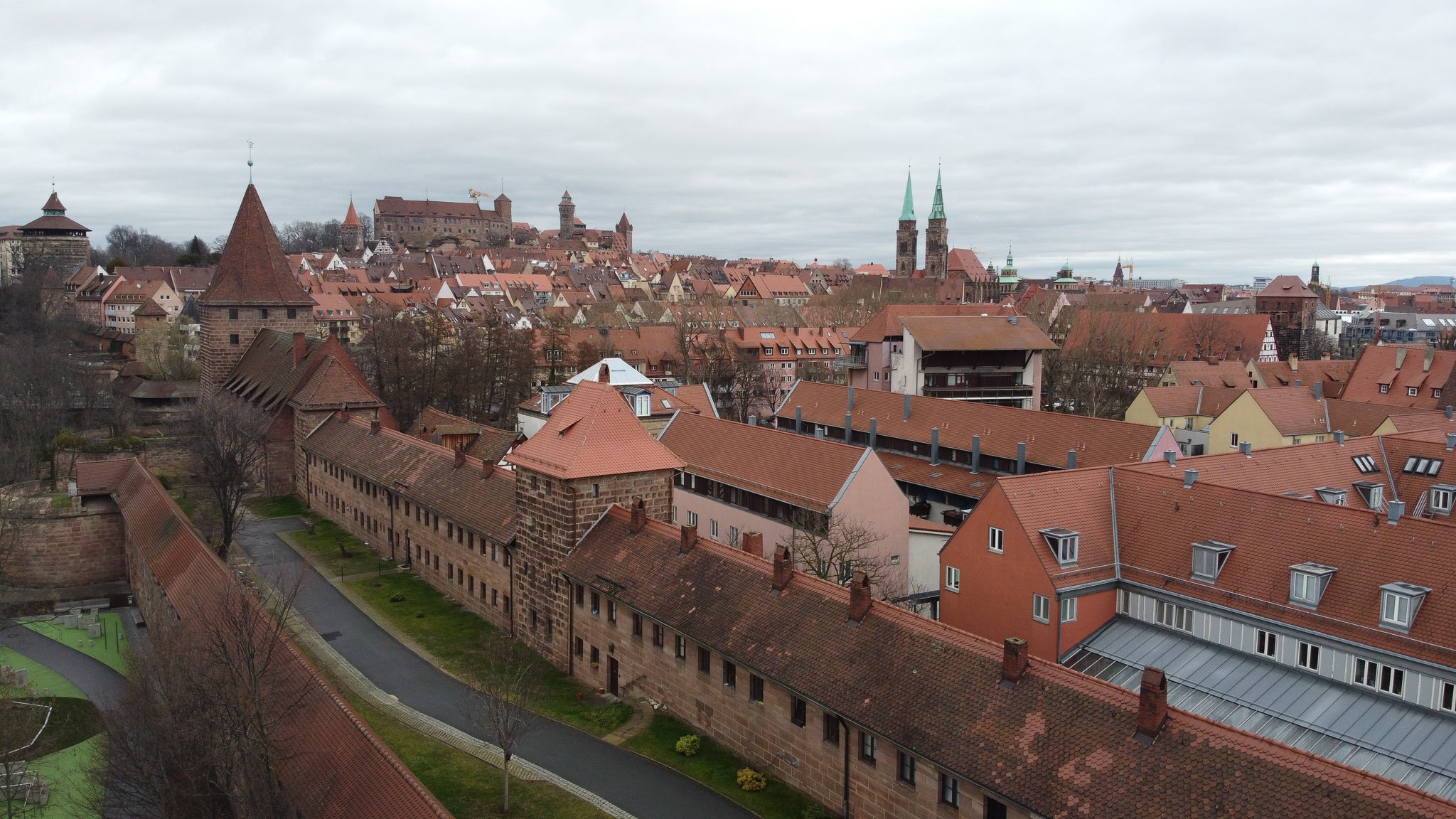 Nuremberg Germany, home of rich German history and ANBU Shinobi