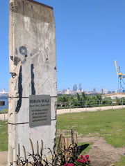 The Berlin Wall in Camden NJ overlooking Philadelphia
