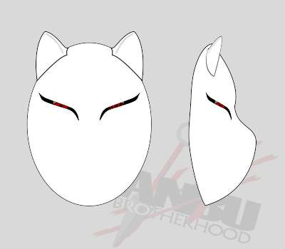 Custom Wolf Mask Standard Config