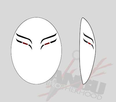 Customized Standard Faceless Mask