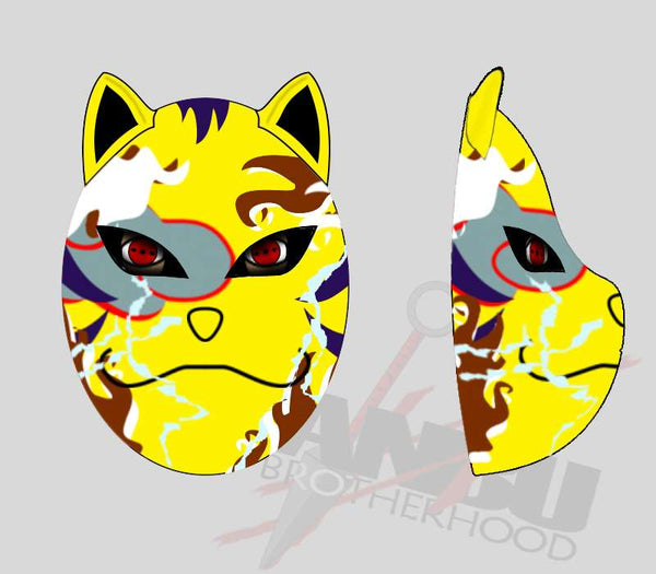 Customized Command level Yellow K9 Mask