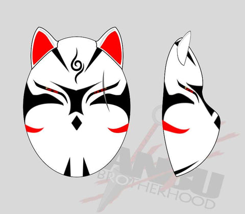 Customized Wolf Mask Standard Config