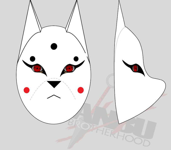 Customized Kira Kitsune Mask Standard Config