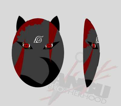 Your Custom Colored ANBU Brotherhood Mask