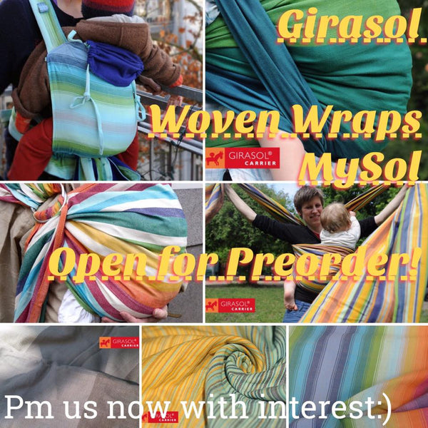 Girasol Handwoven Wraps: Open for Preorder Now