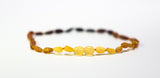 Baltic Amber Baby Necklace Rainbow