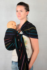 Ling Ling d'amour SoL Ring Sling (Black Rainbow)