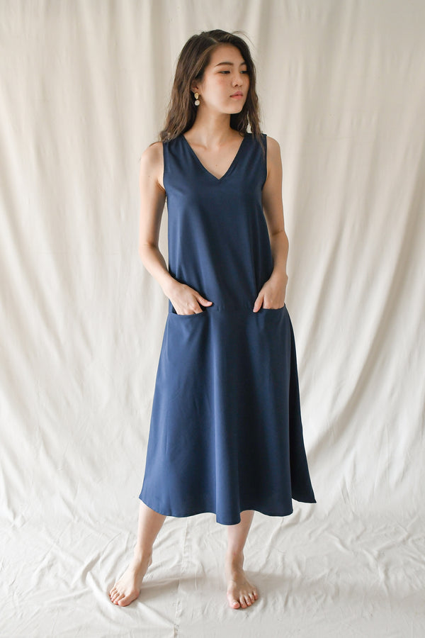 Kylie Maxi Dress / Navy