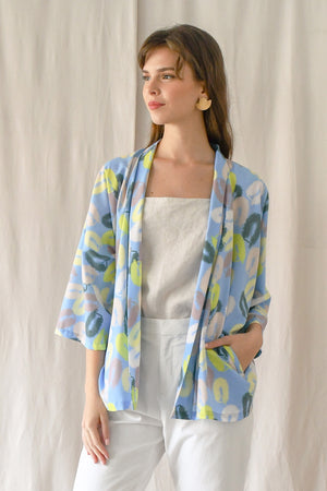 Prints Wrap Lounger / Scrub Party