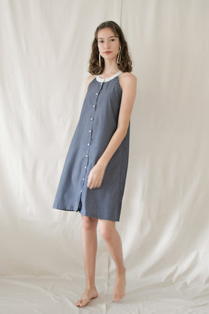Picnic Flare Dress / Chambray