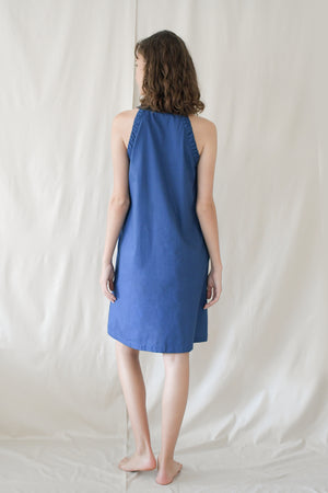 Picnic Flare Dress / Cobalt