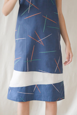 Prints Ribbon Midi / Pick-up Sticks