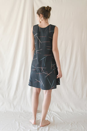 Prints Swing Dress / Pick-up Sticks