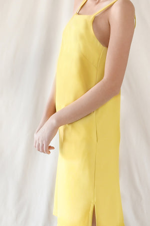 Cami Slip Dress / Lemon