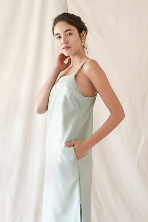 Cami Slip Dress / Mint