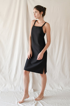 Cami Slip Dress / Black