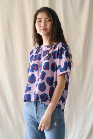Prints Canvas Top / Pink Floral