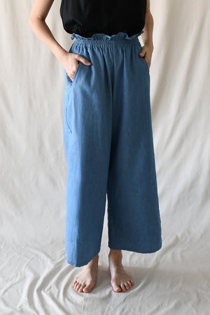 Sloane Pants / Light Denim