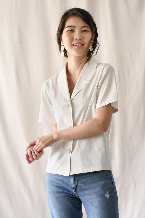 Edith Blouse / Oyster