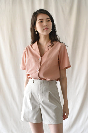 Edith Blouse / Peach