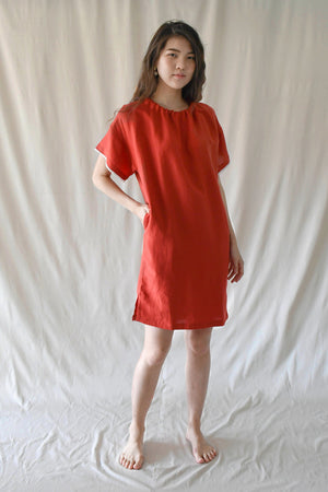 Hammock Dress / Red Chilli