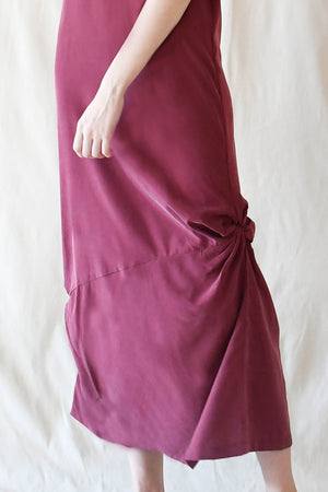 Bloom Maxi Dress / Wine
