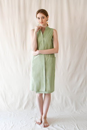 Slope Buttondown Dress / Kaya