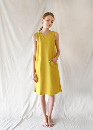 Pauline Dress / Lemon