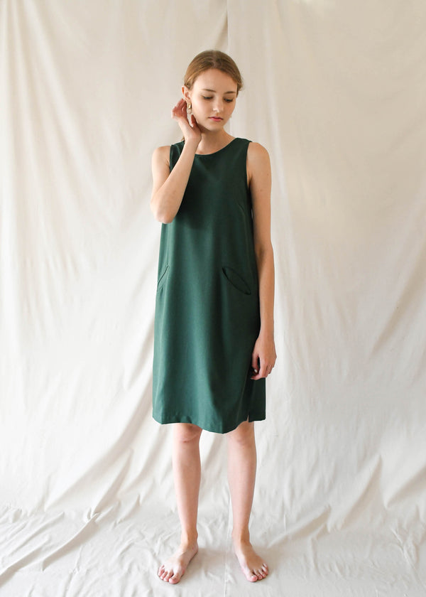 Pauline Dress / Forest