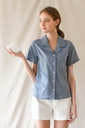 Cloud Blouse / Chambray