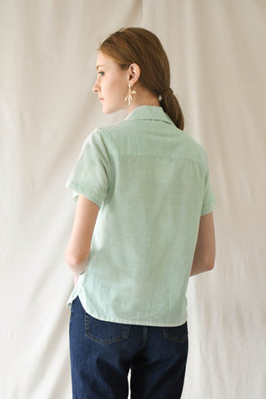 Cloud Blouse / Mint