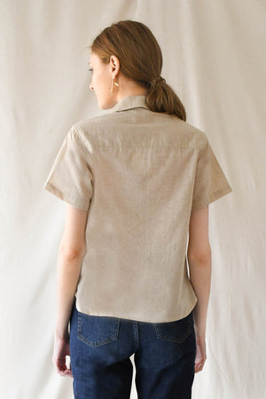 Cloud Blouse / Sand (100% organic cotton)