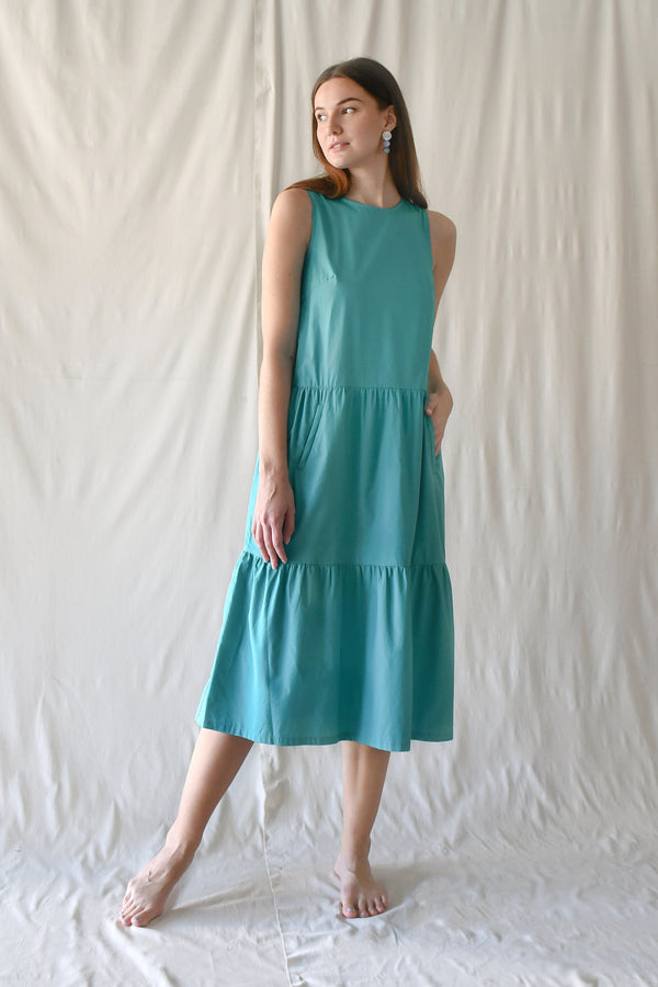 Fran Maxi Dress / Turquoise