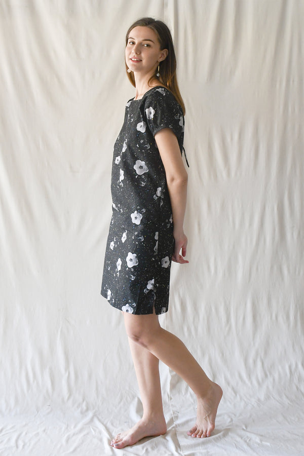 Miranda Dress / Black Floral