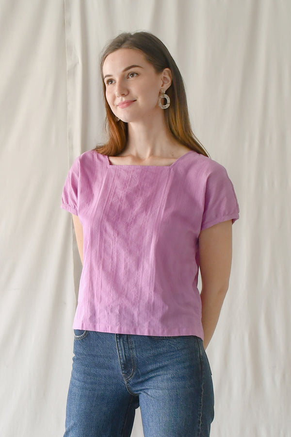 Miranda Blouse /  Taffy Pink