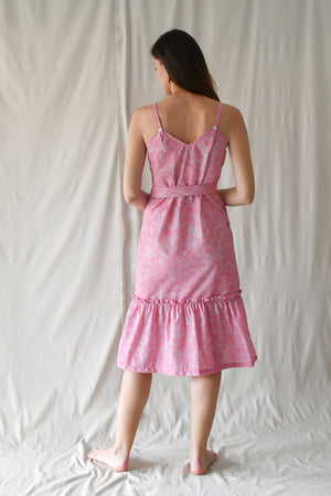 Prints Claudia Dress / Raspberry Flakes
